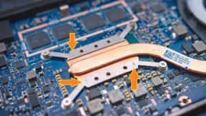 ASUS ZenBook 13 UX331 thermal tube