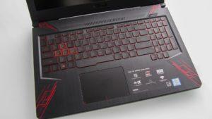 Asus TUF Gaming FX504 plastic case