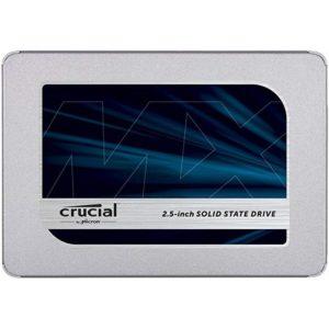 Crucial MX500 SATA Internal SSD