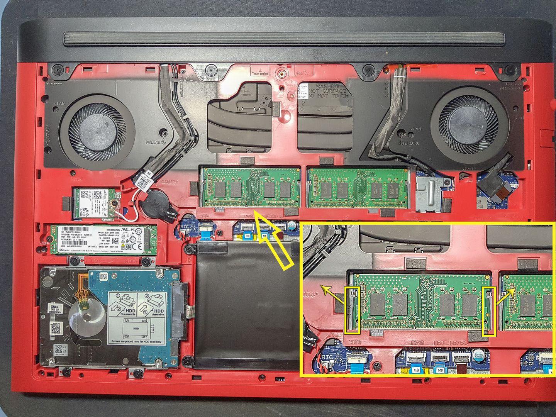 Dell G5 G7 upgrade RAM
