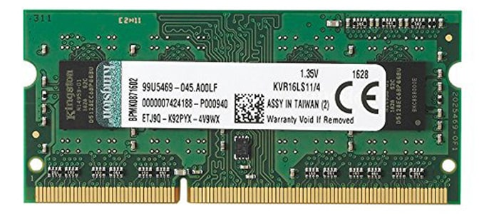 Kingston DDR3L for Laptop
