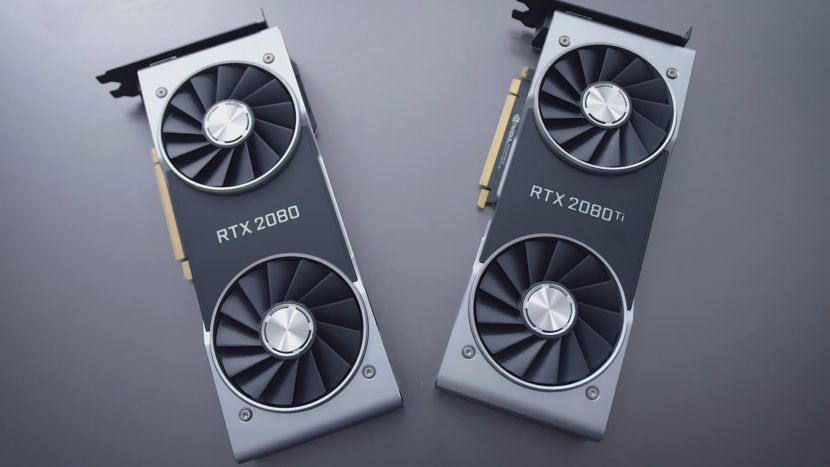 RTX 2080 ti and RTX 2080
