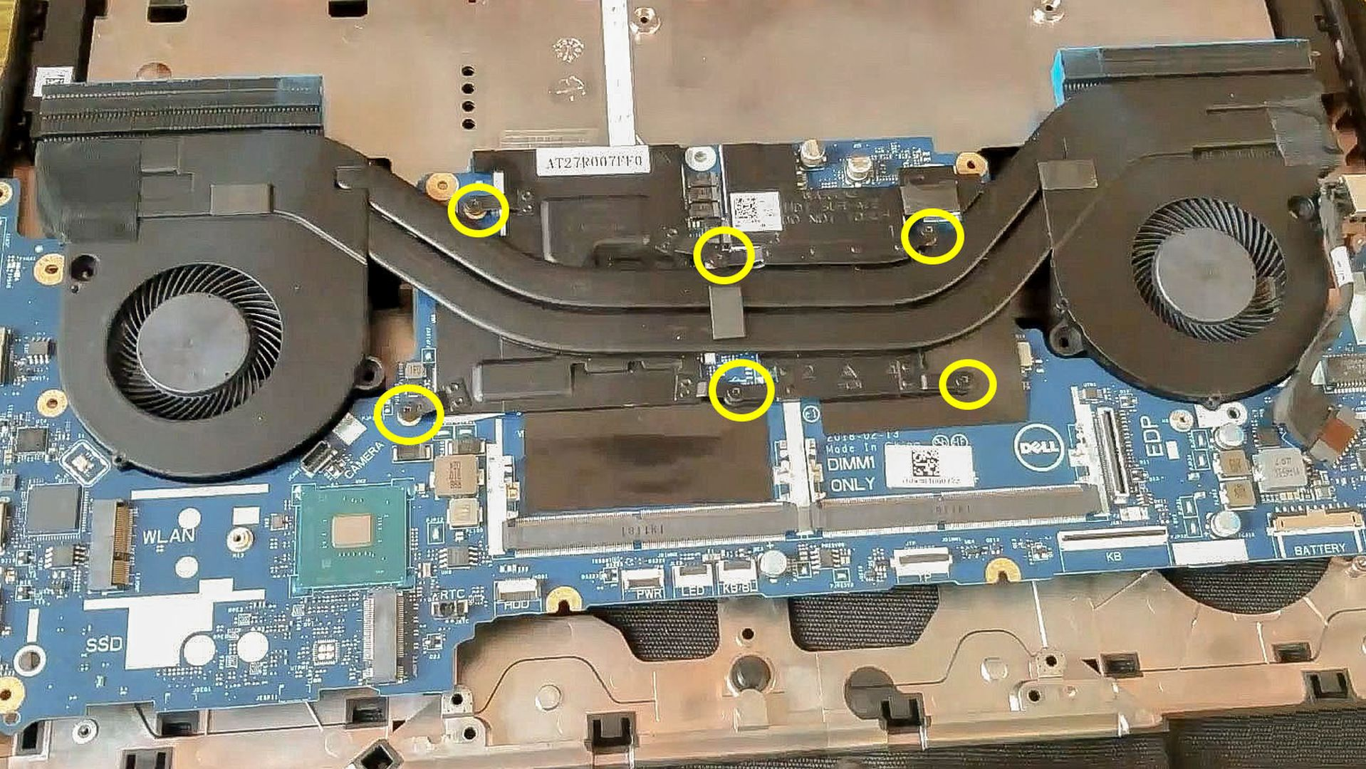 Disassembly Guide of Dell G5 5587, Dell G7 7588