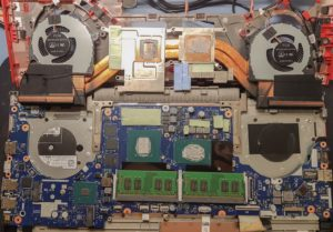 Step 12 of Dell G5 G7 disassembly