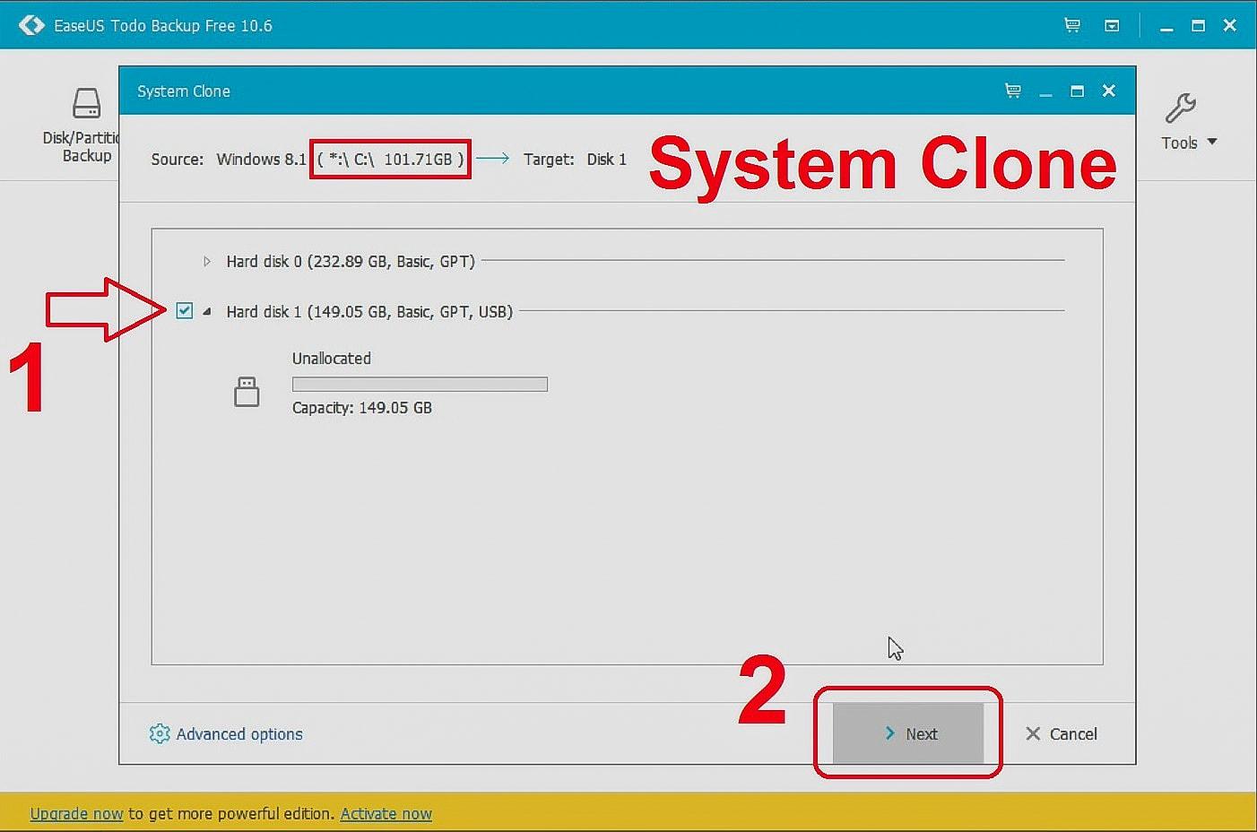 easeus clone ssd windows 10