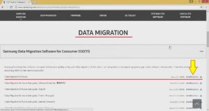 download Transfer windows to SSD Samsung Data Migration