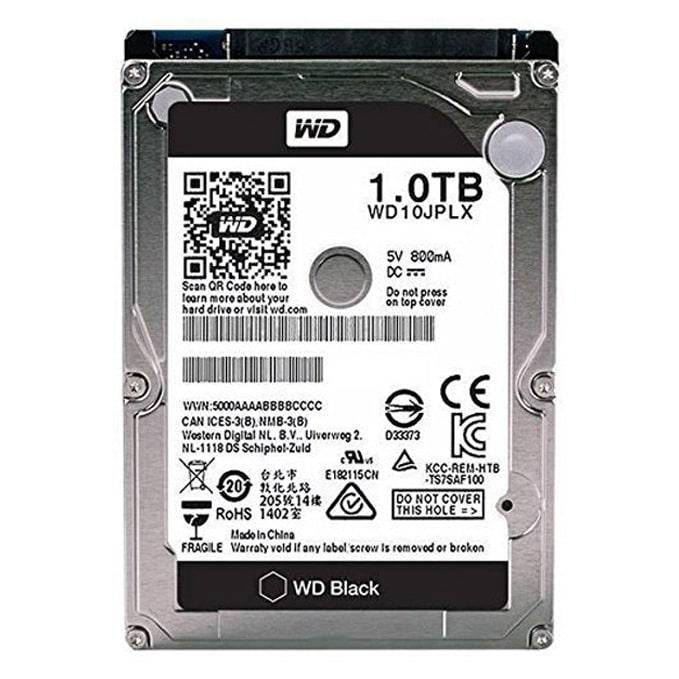WD Black 1TB Hard Disk 7200 RPM