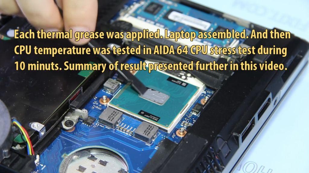 thermal paste apply laptop