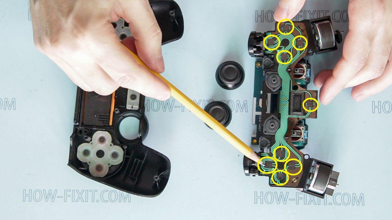 ps4 dualshock 4 repair step 10