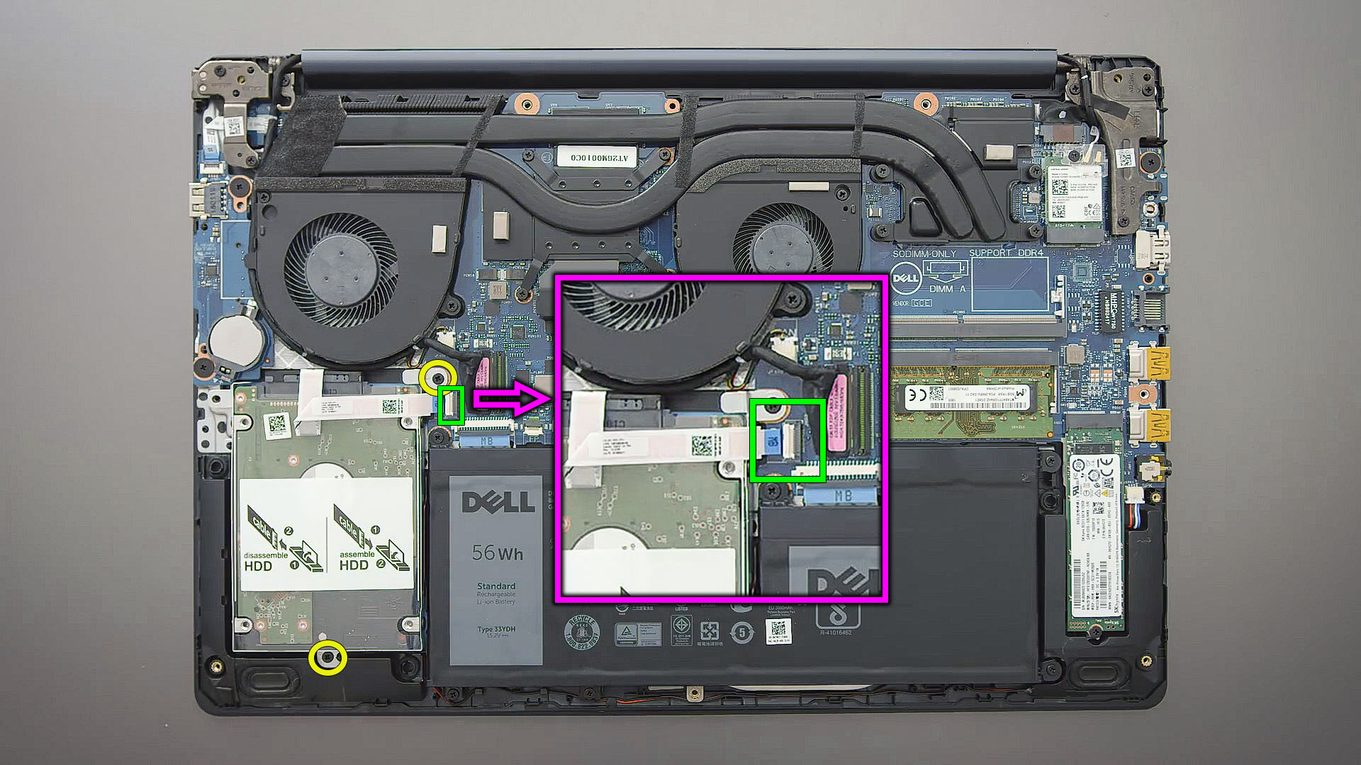 replace hdd Dell G3