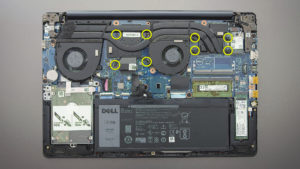 replace thermal paste Dell G3