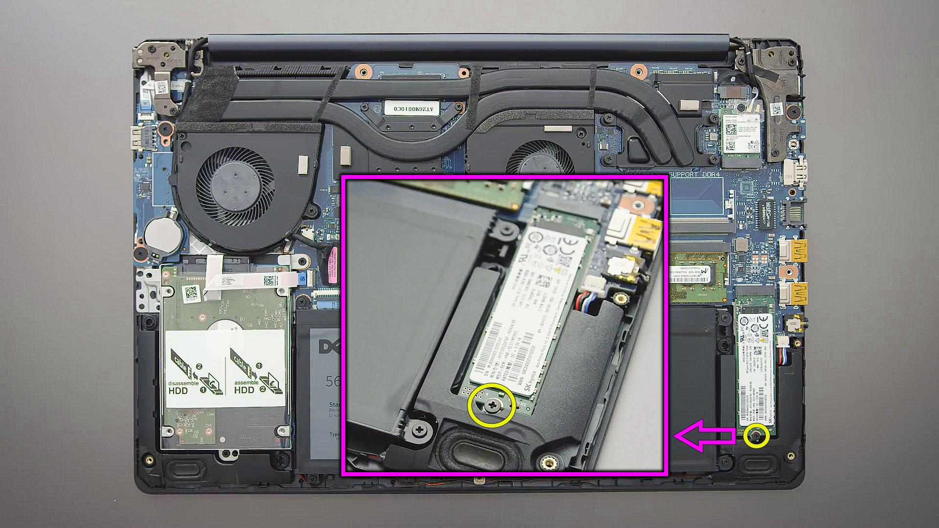 upgrade m2 ssd Dell G3