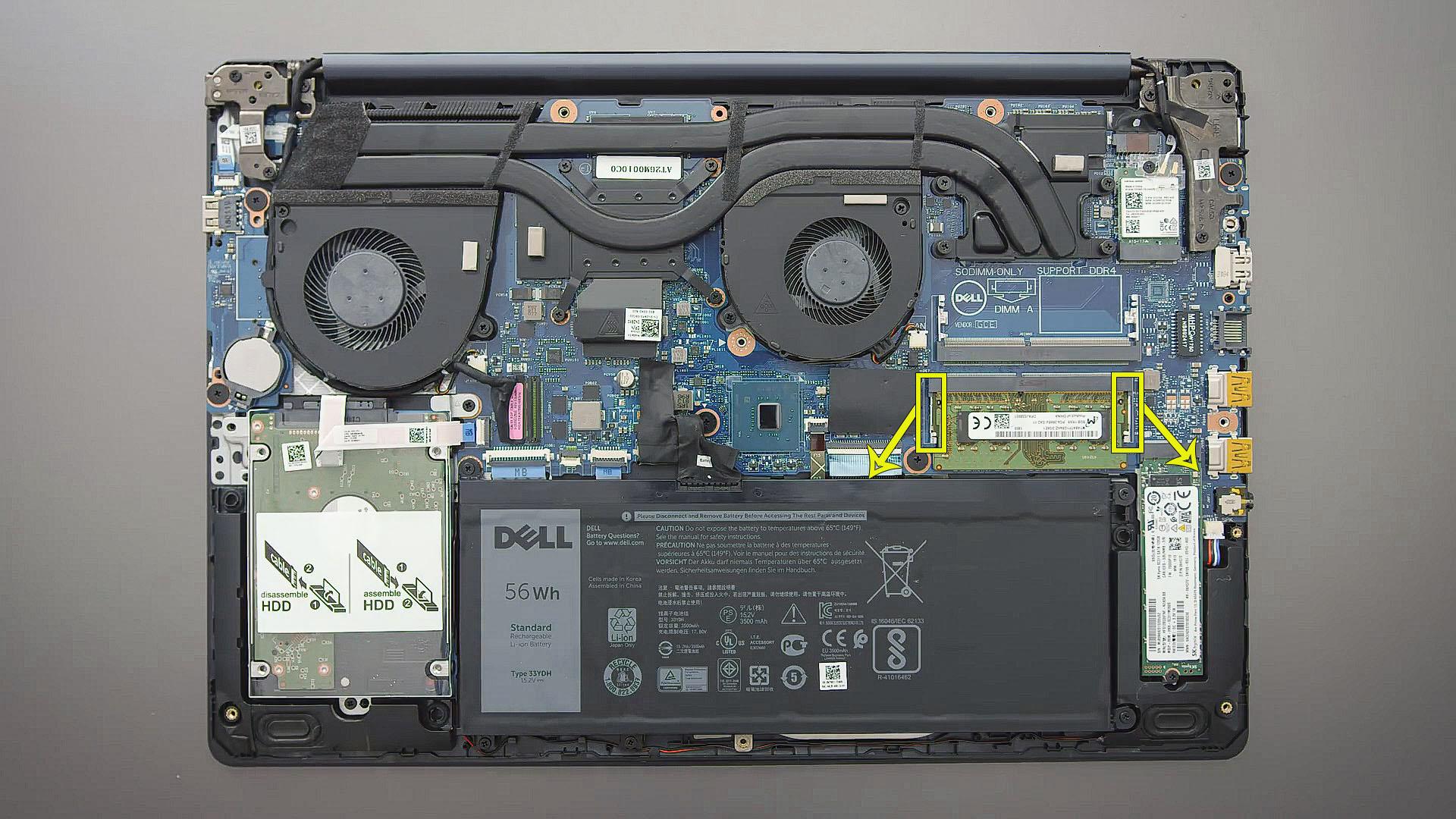 upgrade ram memory Dell G3